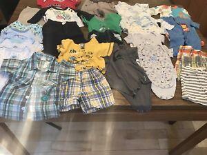 Lot vêtements bébé garçon