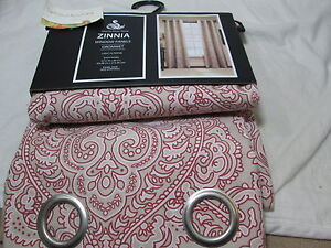 Spencer Home Decor Zinnia Grommet Window Panels Two 37x84 - spencer home decor curtains