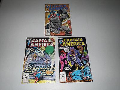 Captain America  #311, #314, #315 > 1985 Marvel (3 COMIC BOOK LOT) VF / NM
