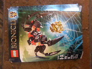 Bionicles Lord of skull spiders Lego