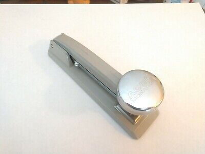 Vintage Genuine Acco Monarch No. 1 Stapler Gray Chrome