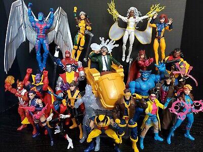 Marvel Legends Lot 93 X-Men X-Force X-Factor New Mutants Wolverine Deadpool BAF