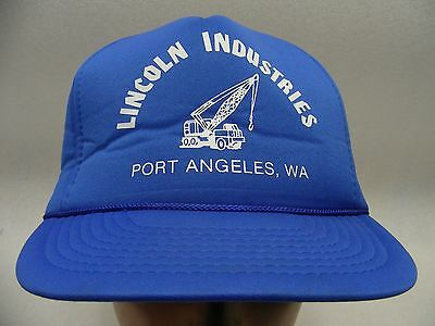 Lincoln Industries - Port Angeles, Wa - Poly Schaum Snapback Ball Kappe Hut