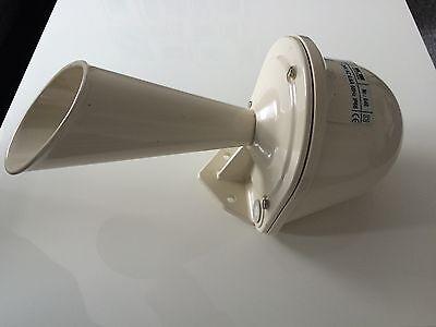Neue Grothe Horn 640 Signalhupe Sirene in weiß