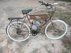 1904 Harley Davidson style 80cc motorized tribute bike Dundowran Fraser Coast Preview