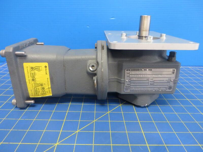 Sew-Eurodrive SA37AQA115/3 Helical Worm Gear - Ratio 35.10
