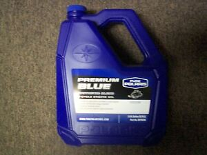 Pure polaris premium synthetic 2 cycle oil 1 gallon 2875036 for Pure synthetic motor oil