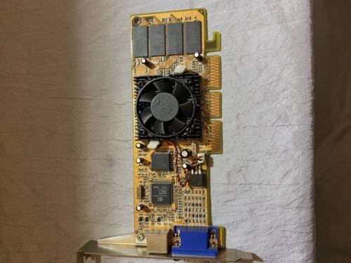 Grafikkarte,AGP für PC,NIVIDIA MVGA-NVG11AM 64 MB,NIVIDIA MX 400 (S-Video) VGA