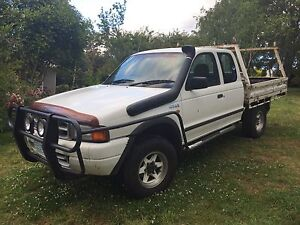 1999 Ford Courier 4x4 Flat Bed Ute. Cygnet Huon Valley Preview