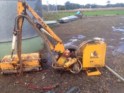 Beaver reach mower needs work sold cheap  Mullumbimby Byron Area Preview