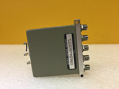 Hp Agilent 08648-67001 Dc To 4 Ghz 5 Vdc Sma F 5 Port Coaxial Switch