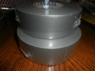 New Polyken 223 Multi-purpose Duct Tape - 2 Inch X 60 Yds- Gray - Lot Of 2