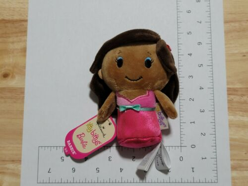 2016 Hallmark Itty Bittys Barbie African American Plush NWT New with Tags