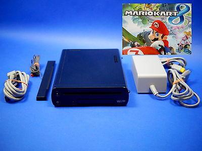 Nintendo Wii U Konsole 32 GB Mario Kart 8 inst, mit Kabeln, ohne Gamepad ~8118 ()