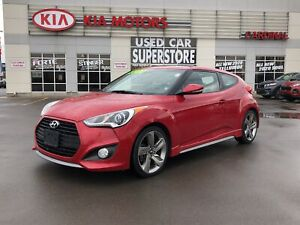 2013 Hyundai Veloster Turbo w/Colour Pack TURBO, NAV, LEATHER, S