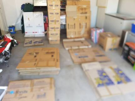 Packing / Moving boxes - 39 assorted (wardrobe + sml, med lge)