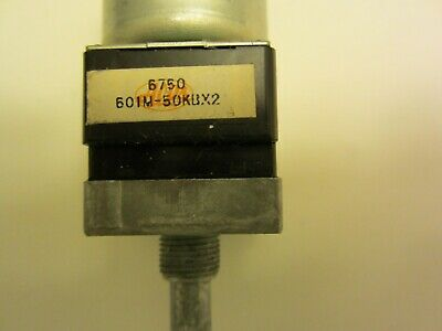 New Japan Alps 601m-50kbx2 Stereo Motorized Volume Potentiometer