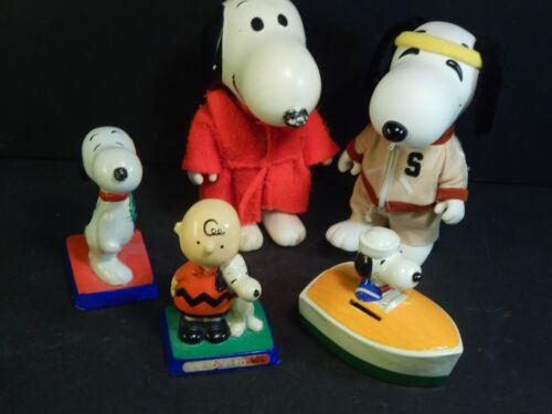 Vintage Snoopy Peanuts Lot w/ Figures
