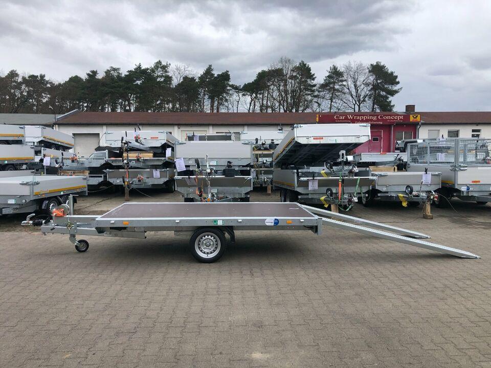 ⭐️ Eduard Auto Transporter 1500 kg 311x180 Rampen Winde 63 in Schöneiche bei Berlin