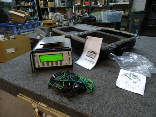 Ion Systems 280A Digital Charge Plate Monitor w/ Cables Manual CD & Case