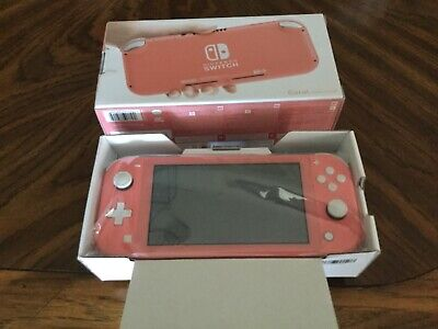 Nintendo Switch Lite 32 GB Gaming Console - Coral New - limited edition color!
