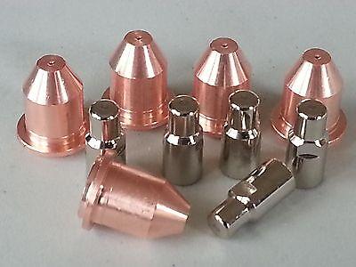 10pc 770496 Hobart 250ci 500ci - 5 X Tip 5 X Electrode Kit Fits Hp-25 Hp-50