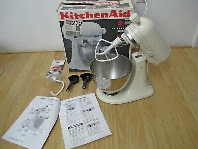 KitchenAid Ultra Power Almond Stand Mixer KSM90 w/ Bowl + Attachments, no whisk