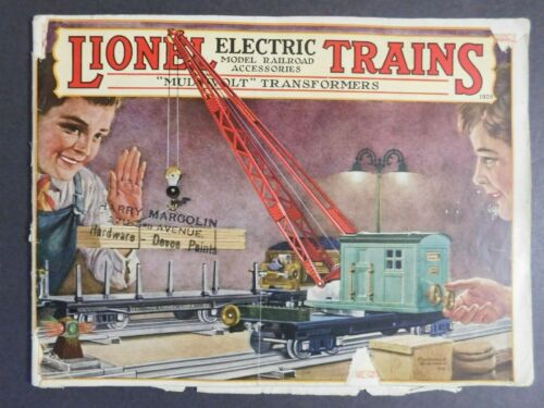 Scarce Original 1928 Lionel Electric Trains Catalog 45 pg. VGC Gary Nelson Coll.