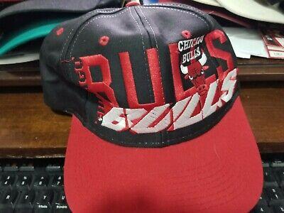 VTG Logo 7 Chicago Bulls Jordan Era NBA Snapback Baseball Cap Hat