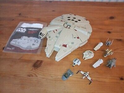 Star Wars Micro Machines millennium falcon and ships