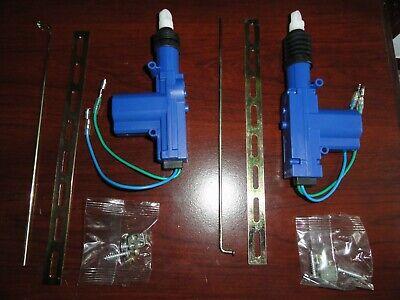 2 Dc 12v Car Heavy Duty Central Lockig Power Door Lock Actuator Motor 2 Wire Kit