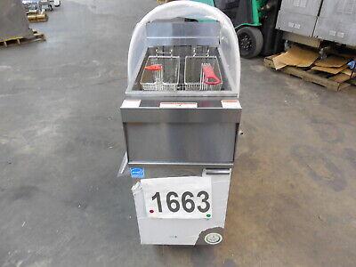 1663 New - Sd Vulcan Electric Deep Fryer Filtration System Model 1er50af-1