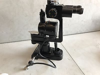 Topcon Slit Lamp Microscope Model 1d Ophthalmology Equipment For Parts