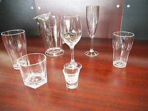 New Outdoor Poly Drinking Safety Glasses Bar Pub Cafe Glassware Melbourne CBD Melbourne City Preview