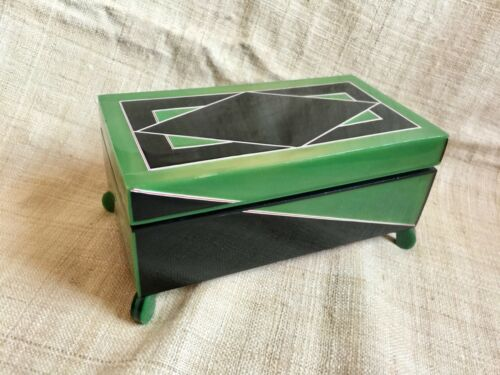 Fantastic Art Deco Bakelite Box