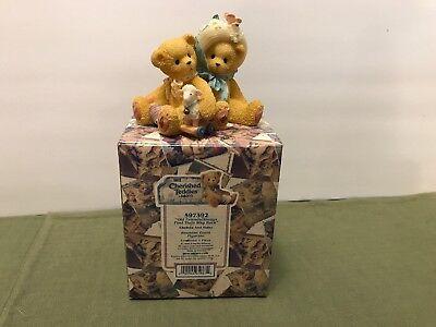 Cherished Teddies Enesco Chelsea & Daisy Reunion Event Figurine  #597392  (1999) for sale  Hixson