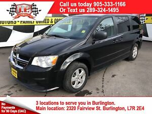 2012 Dodge Grand Caravan SE, Automatic, 3rd  Row Seating,