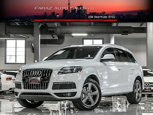 2015 Audi Q7 S-LINE|TECHNIK|BLINDSPOT|LDW|360CAM|LOADED