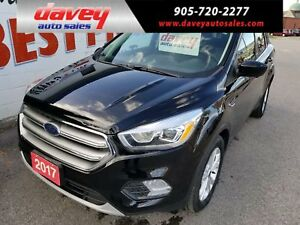 2017 Ford Escape SE 4X4, HEATED SEATS, BACK UP CAMERA