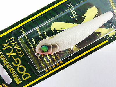 Megabass - DOG-X Jr. COAYU 71mm 1/5oz. WHITE BUTTERFLY