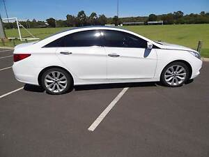 2010 Hyundai i45 YF Premium 6 speed automatic white Sedan Dunsborough Busselton Area Preview
