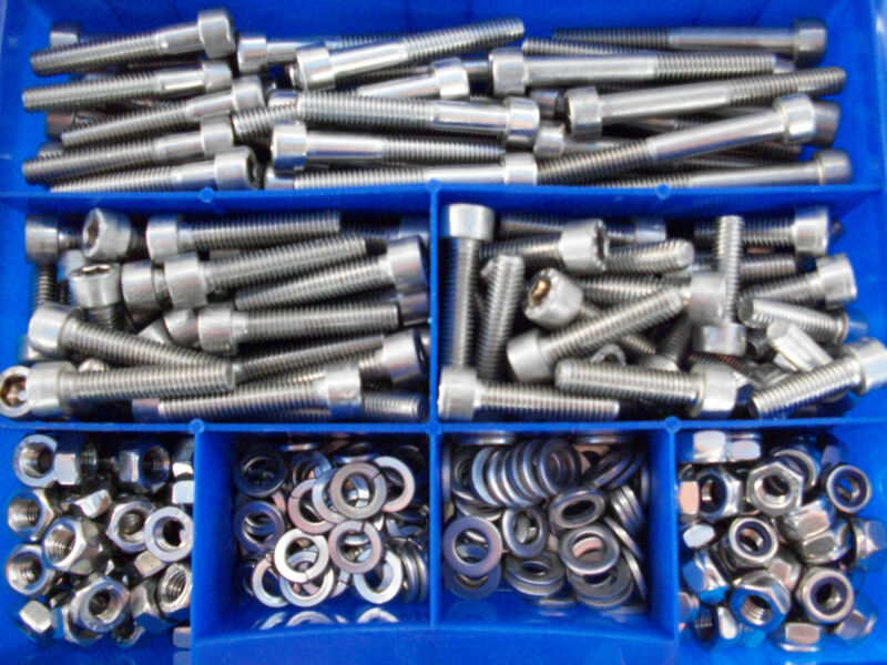 1000 pièces cylindre vis DIN 912-a2 M tête cylindrique M 3x 6