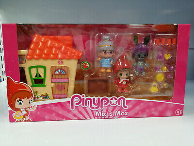 Famosa 700013830 Pinypon MIx is Max - Caperucita Roja con mini casa