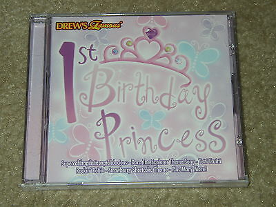 Drew's 1st Birthday Princess [Party Songs Fit For A Princess] 23 songs... NEW CD Birthday Party Songs Cd