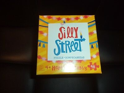 Silly Street: Happy Birthday Puzzle 48 Pieces Puzzle Jigsaw New! Kids Childrens