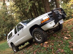 2004 Dodge Dakota 4x4 white