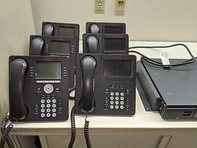 Avaya Ip500 V2 Phone System W 6 Phonestrunk Card 4u Vcm32 C110 Uc Module