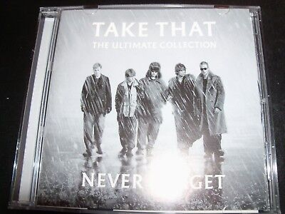 Take That Ultimate Never Forget Greatest Hits Best Of (Australia) CD – Like New (Take That Best Of)