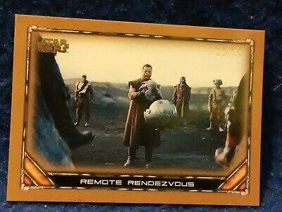 2020 Topps The Mandalorian Season 1 Bronze Parallel #83 Remote Rendezvous 33/50