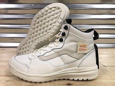 Vans Ultra Range Hi DX ZPR MTE Skate Shoes Patch Marshmallow SZ 9 (VN0A3TKYURL)